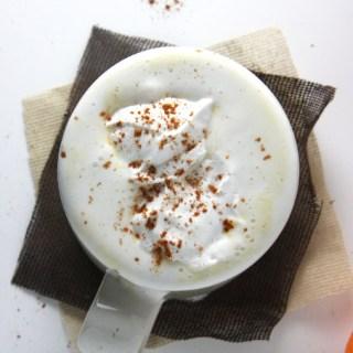 Coffee-Free Maple Pumpkin Spice Latte