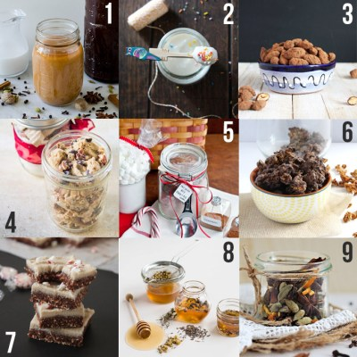 Homemade Holiday Food Gifts
