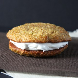 Lime Cashew Whoopie Pies