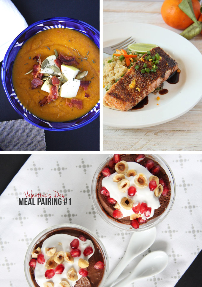 Valentine's Day Meal Pairings // 24 Carrot Life #valentinesday #healthy