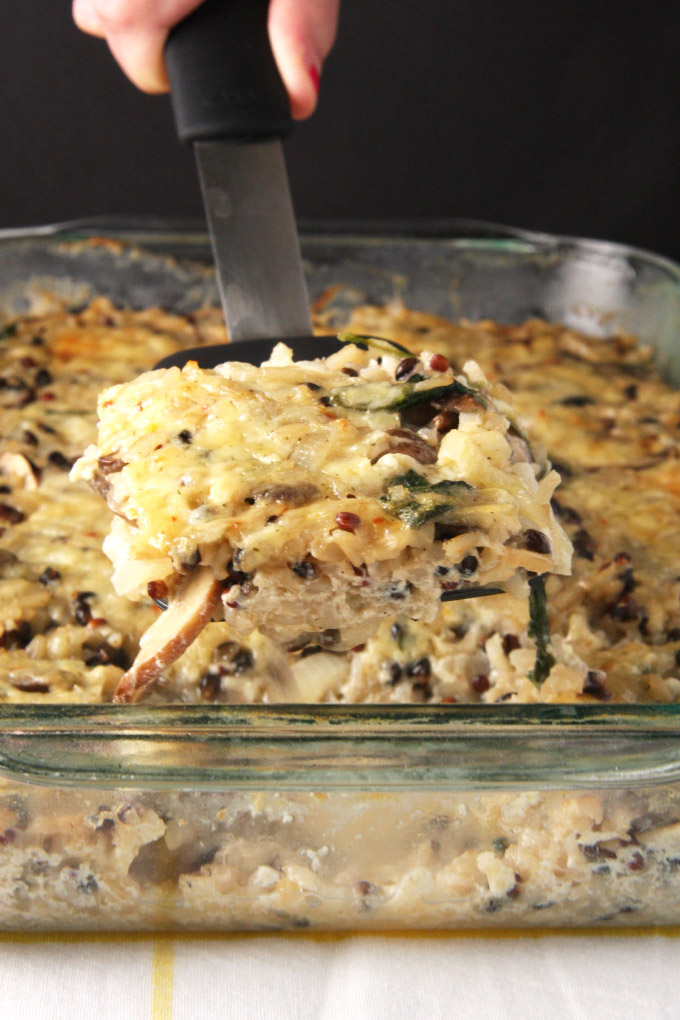 Vegetable & Rice Casserole // 24 Carrot Life #reciperedux #rice #casseroles #ad