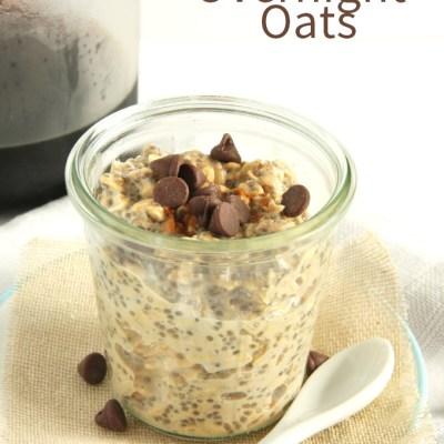 Latte Overnight Oats (Vegan)
