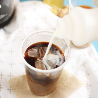 Cold Brew Coffee How-To + Ginger and Lavender Syrups