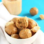Gingersnap Cookie Energy Bites // @24carrotlife #healthy #snacks #glutenfree #vegan