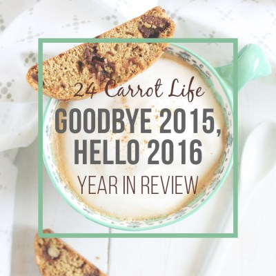 Goodbye 2015, Hello 2016 (+ a Reader Survey)