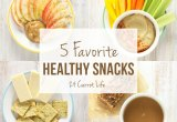 5 Favorite Healthy Snacks // 24 Carrot Life #healthy #snacks #sponsored