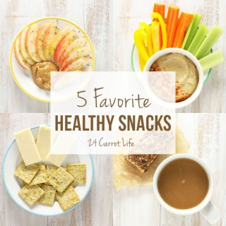 5 Favorite Healthy Snacks