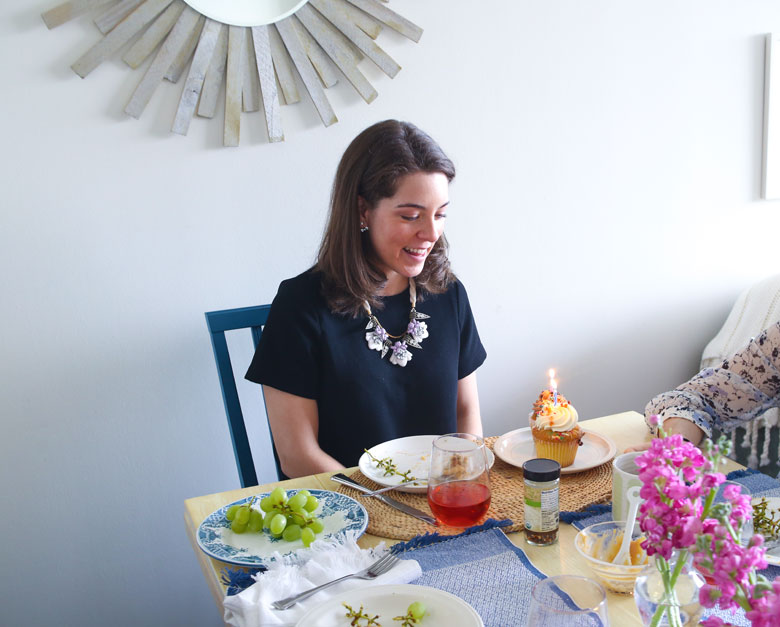 Birthday Brunch // 24 Carrot Life #brunch #LiptonTeaTime #Sponsored