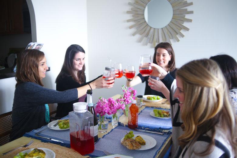 Birthday Brunch // 24 Carrot Life #brunch #LiptonTeaTime #Sponsored