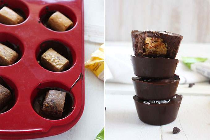 Perfect Chocolate Cups // 24 Carrot Life #chocolate #perfectbars #sponsored