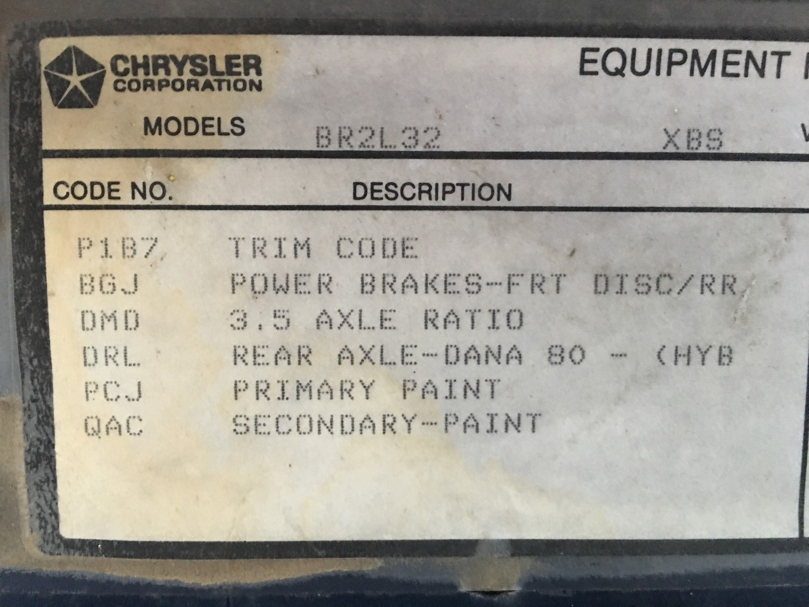 2001 ford f150 automatic transmission identification