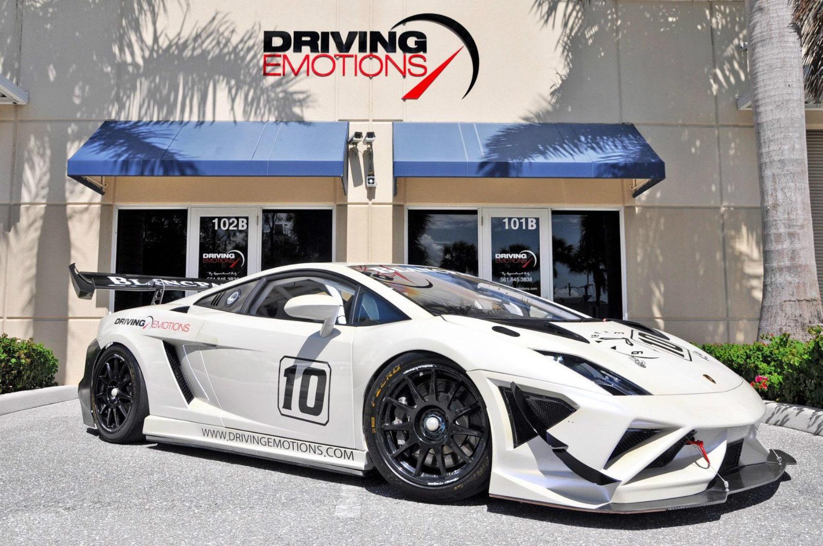 Amazing 2013 Lamborghini Gallardo Lp570 Super Trofeo Race