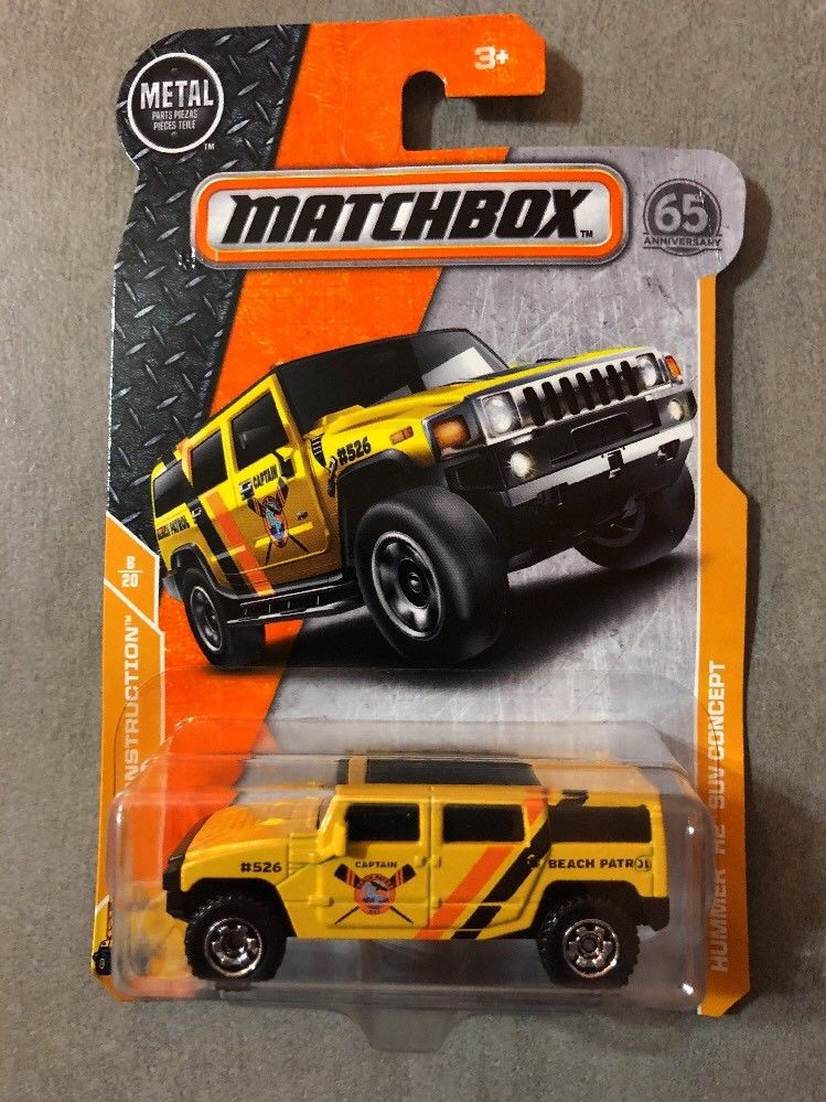 Awesome Hummer H2 SUV Concept Matchbox 2018 2018 2019