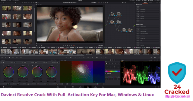 Davinci Resolve Crack With Full Activation Key For Mac, Windows & Linux