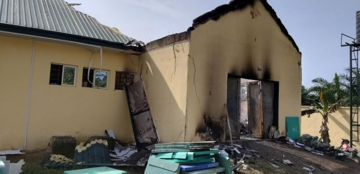 INEC Yet To Complete Awka Office Renovation Following Unknown Gunmen Attack