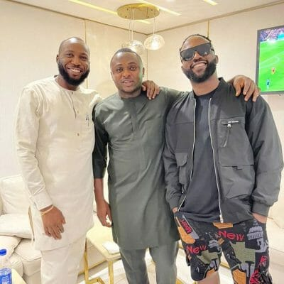 Iyanya And Ubi Franklin Back Together As They Reunite Their MMMG Label Group (See Photos)