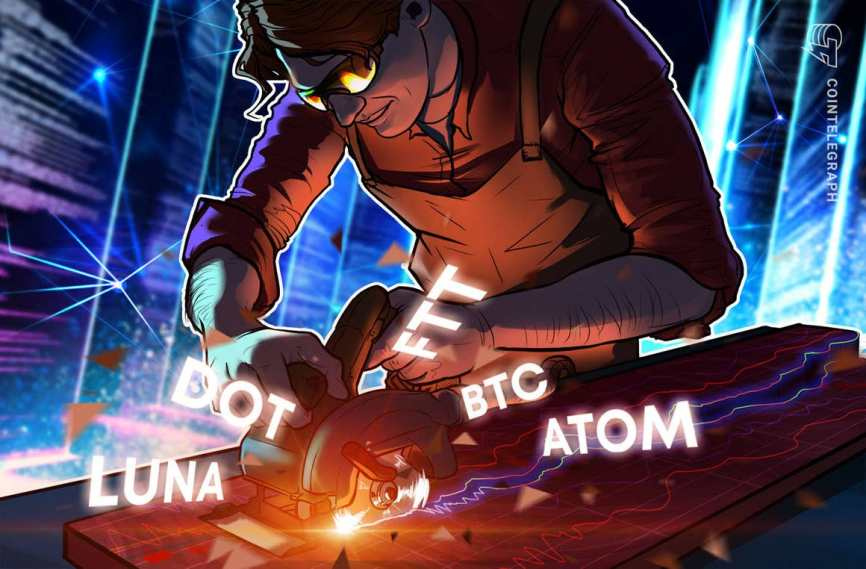 Top 5 cryptocurrencies to watch this week: BTC, DOT, LUNA, ATOM, FTT