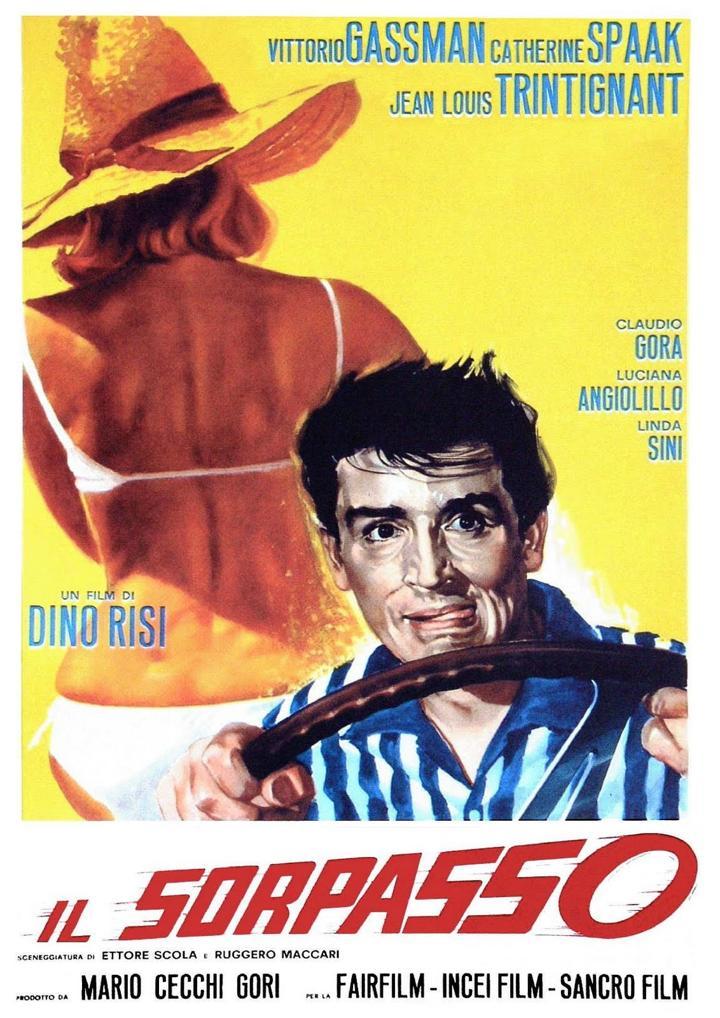 Il Sorpasso Poster