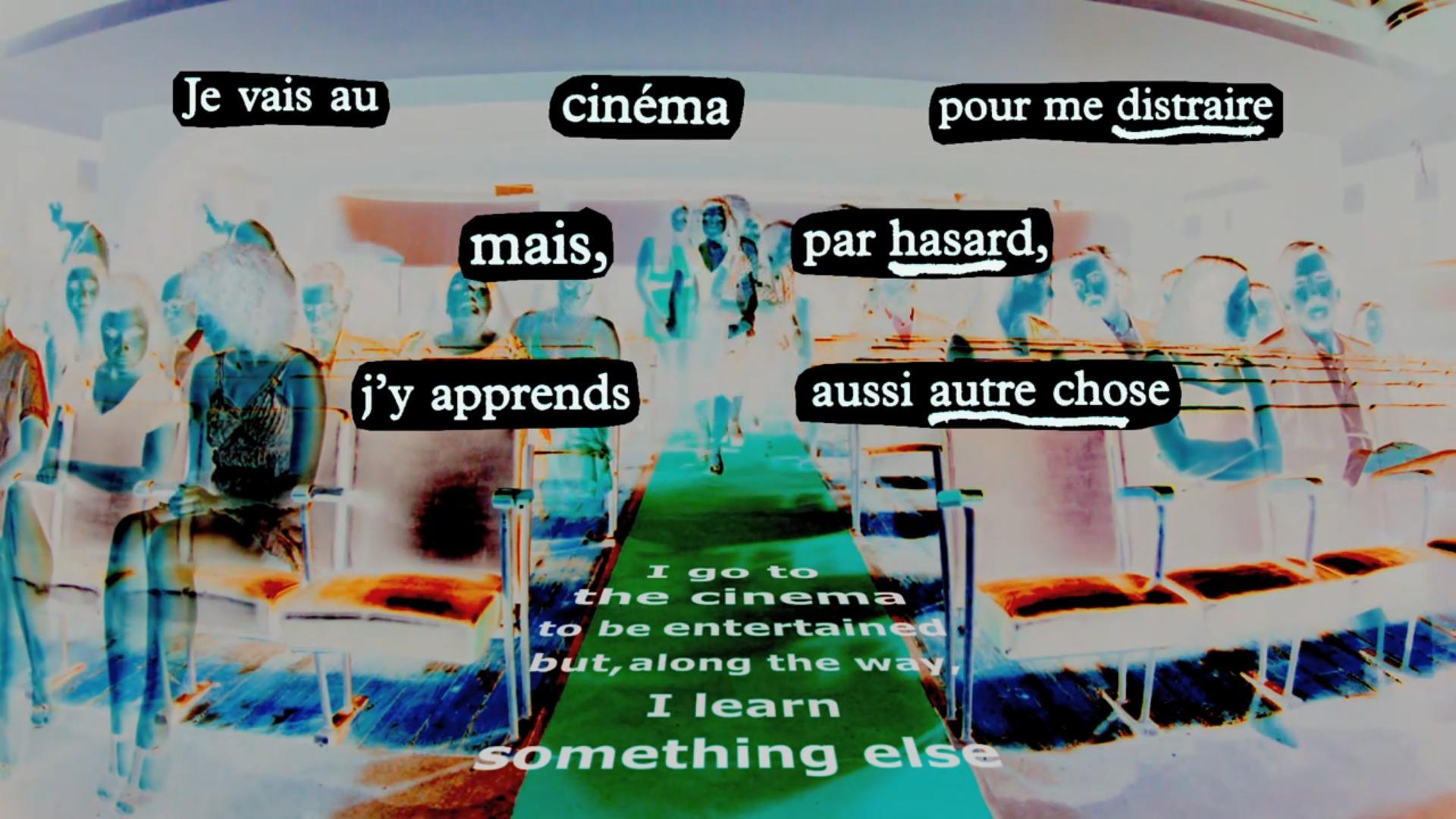 I go to the Cinema