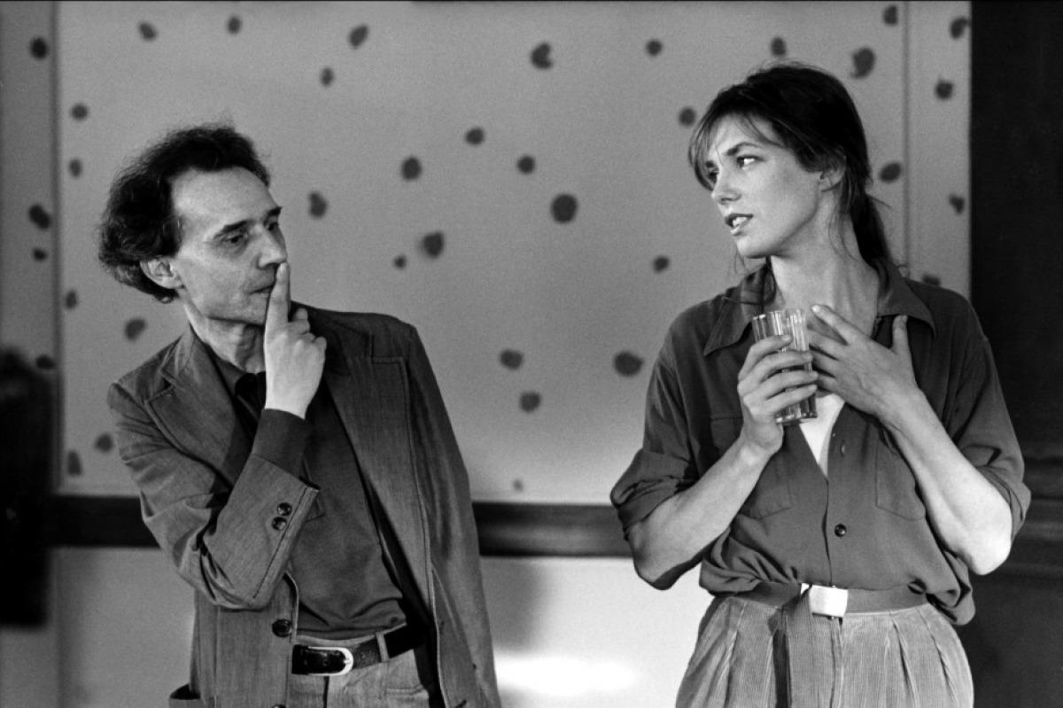 Jacques Rivette & Jane Birkin