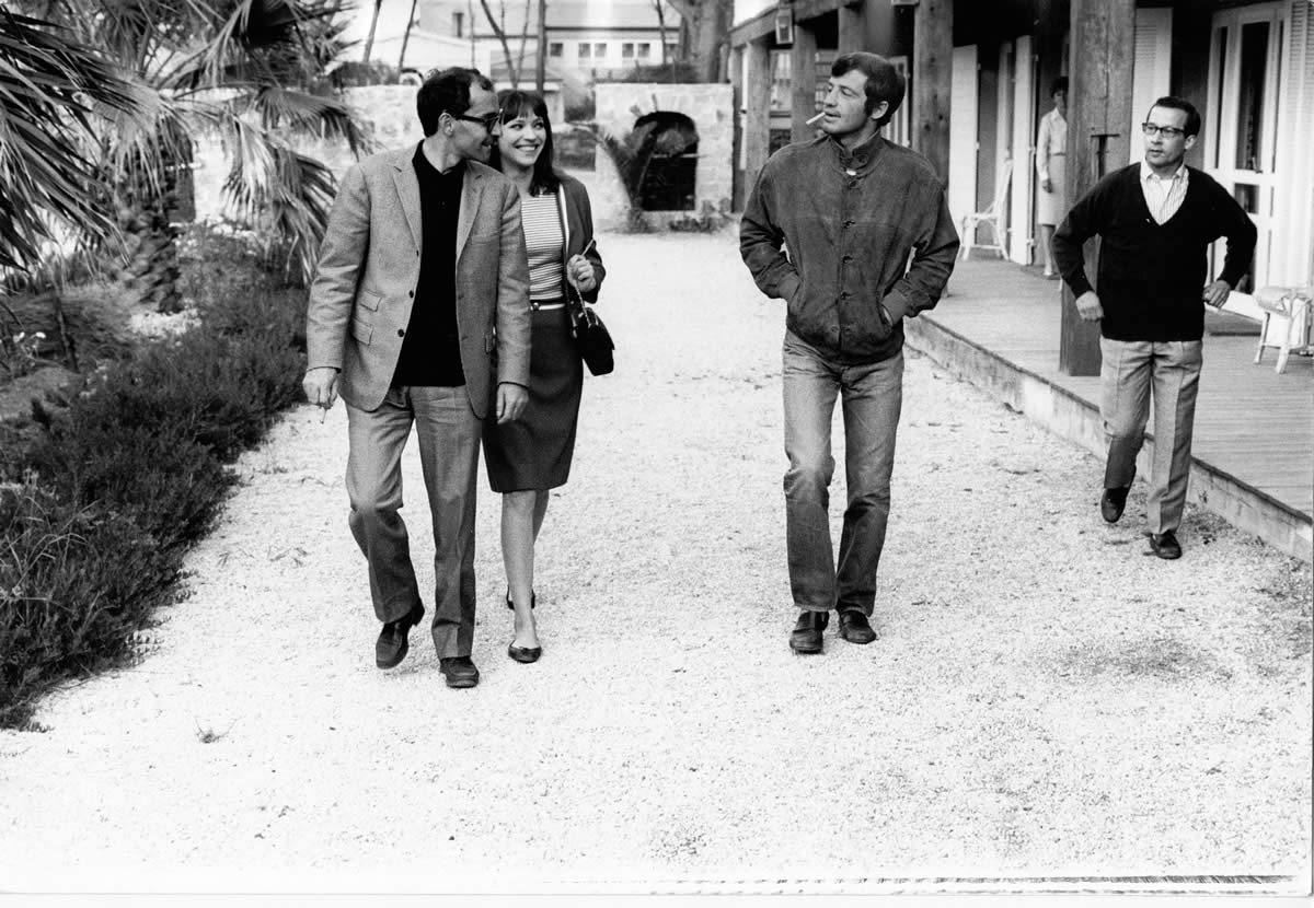 JLG, Karina & Belmondo