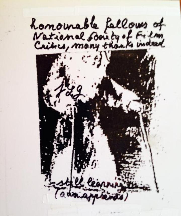 Jean-Luc Godard Postcard