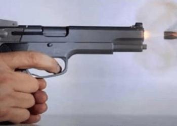 Bank guard shoots customer