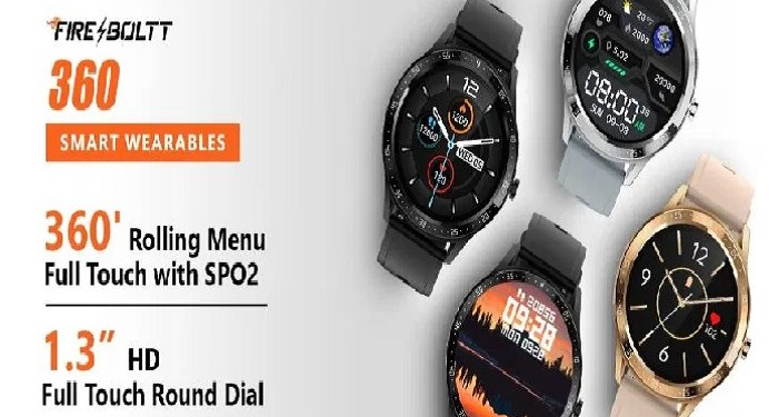 Bolt launches its Fire-Bolt 360 smartwatch, know the features