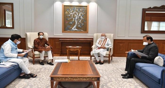 CM Uddhav met PM Modi