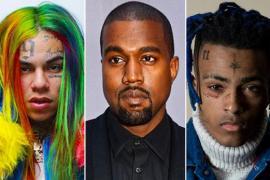 Kanye West Reveals Xxxtentacion, 6ix9ine Features On 'Yandhi'