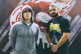 Eminem Denies Dissing Drake On 'Kamikaze'