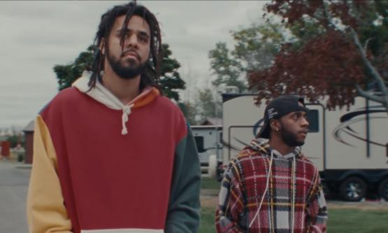 6lack Ft J Cole - Pretty Little Fears Video