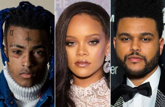 Xxxtentacion Rihanna & The Weeknd Collaborations