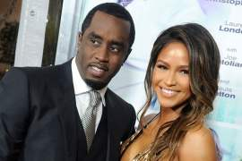 Diddy & Cassie Reconnect After Kim Porter's Death
