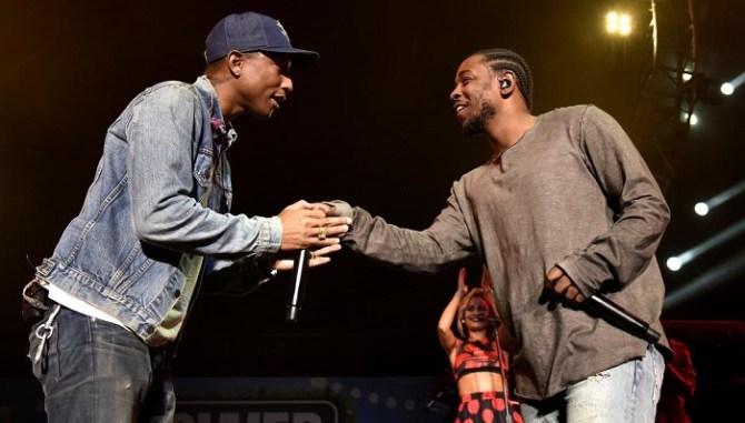 Kendrick Lamar Ft Pharrell The Mantra Drops Tonight.