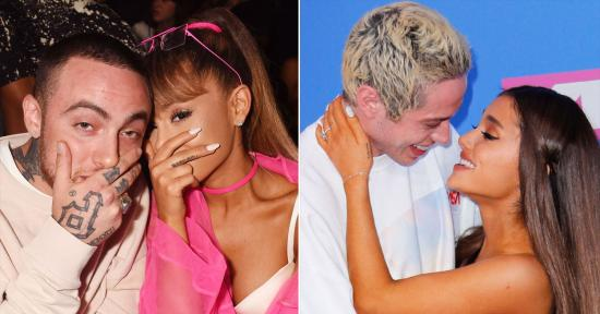 Ariana Grande Covers Up Pete Davidson Tattoo