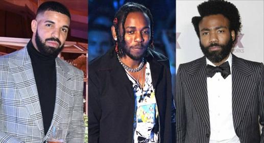 Kendrick Lamar, Drake & Childish Gambino Declined Grammy Performance