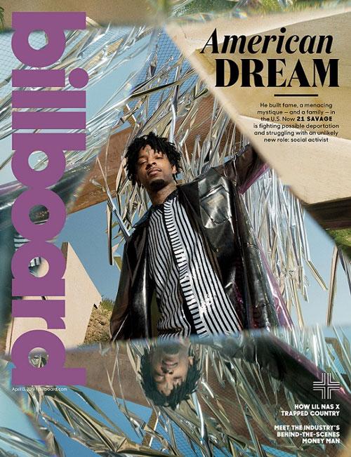 21 Savage Covers Billboard