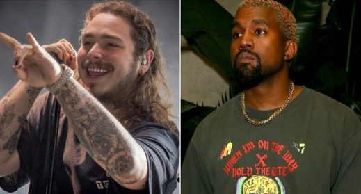 Post Malone & Kanye West New Song'F*ck The Internet' Leaks