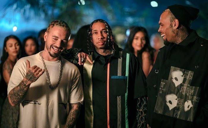 "Tyga Taps J Balvin & Chris Brown For ""Haute"": Listen"