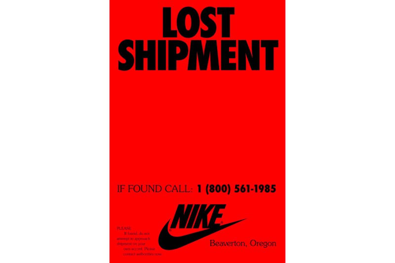Nike Launches Mysterious 1985 Lost Shipment Campaign