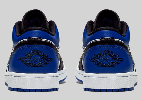 Air Jordan 1 Low 'Royal Toe' Is Available Now
