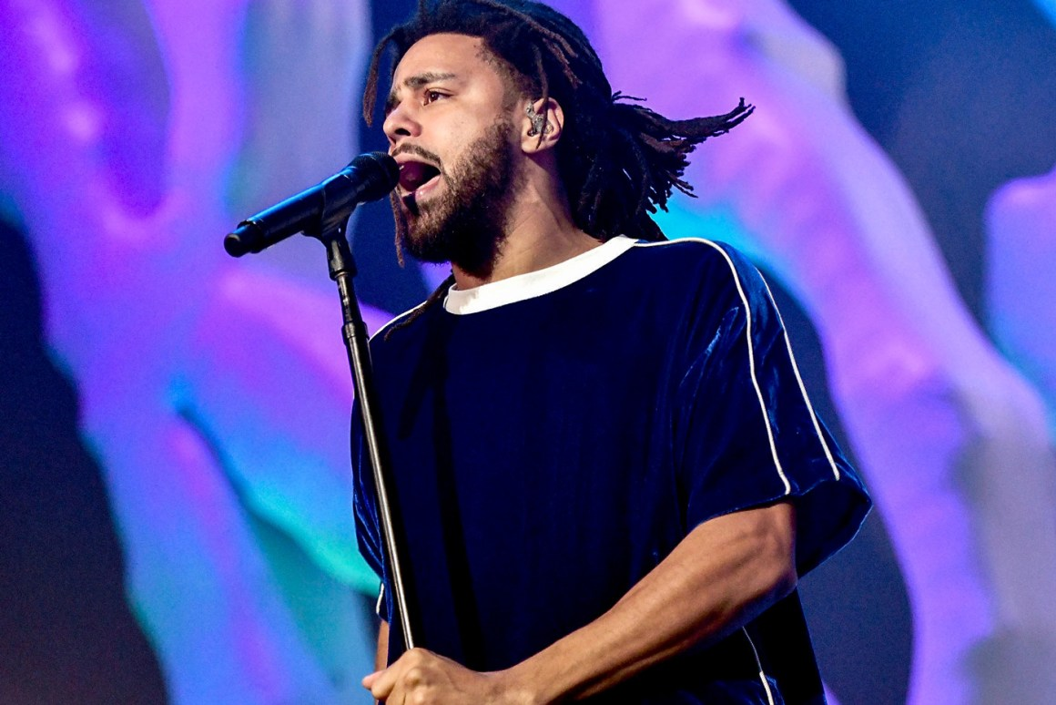 J. Cole Joins George Floyd Protest in Fayetteville
