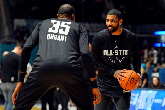 Kevin Durant, Kyrie Irving and DeAndre Jordan To Sign With Nets