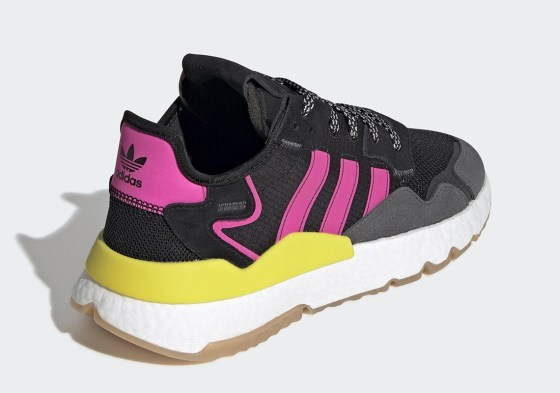 The adidas Nite Jogger Emerges With Purple And Neon Accents