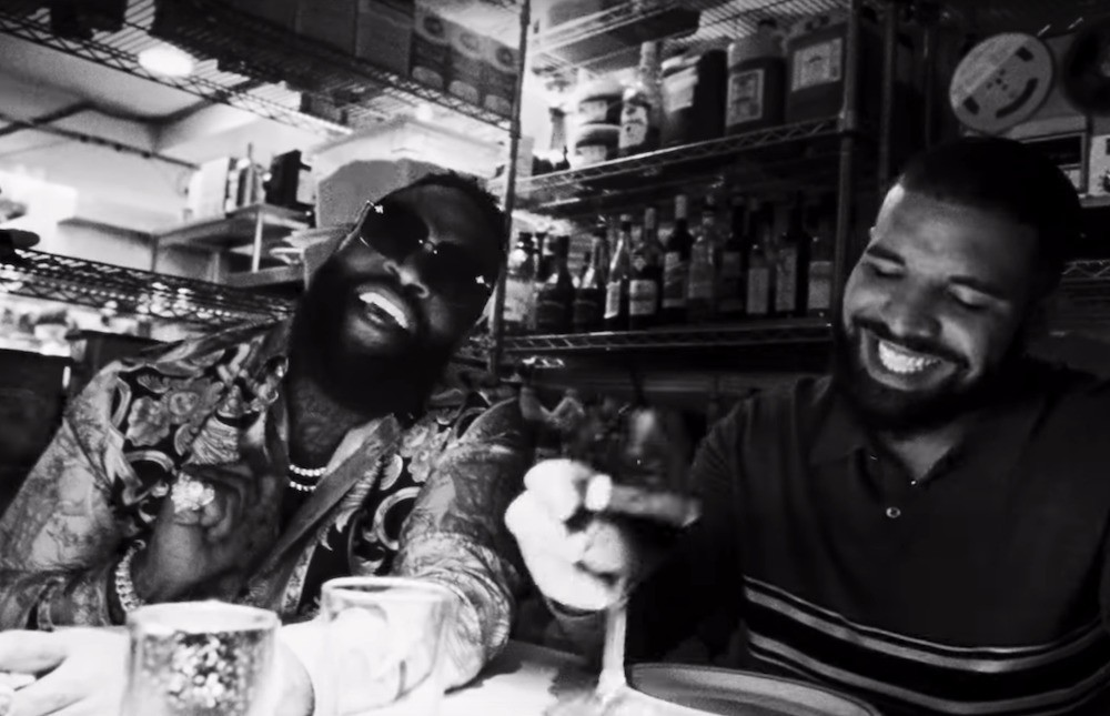 """Watch Drake & Rick Ross """"Money In The Grave"""" Music Video"""
