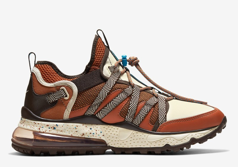 """Nike Air Max 270 Bowfin Gets A Rustic """"Russet Brown"""" Colorway"""