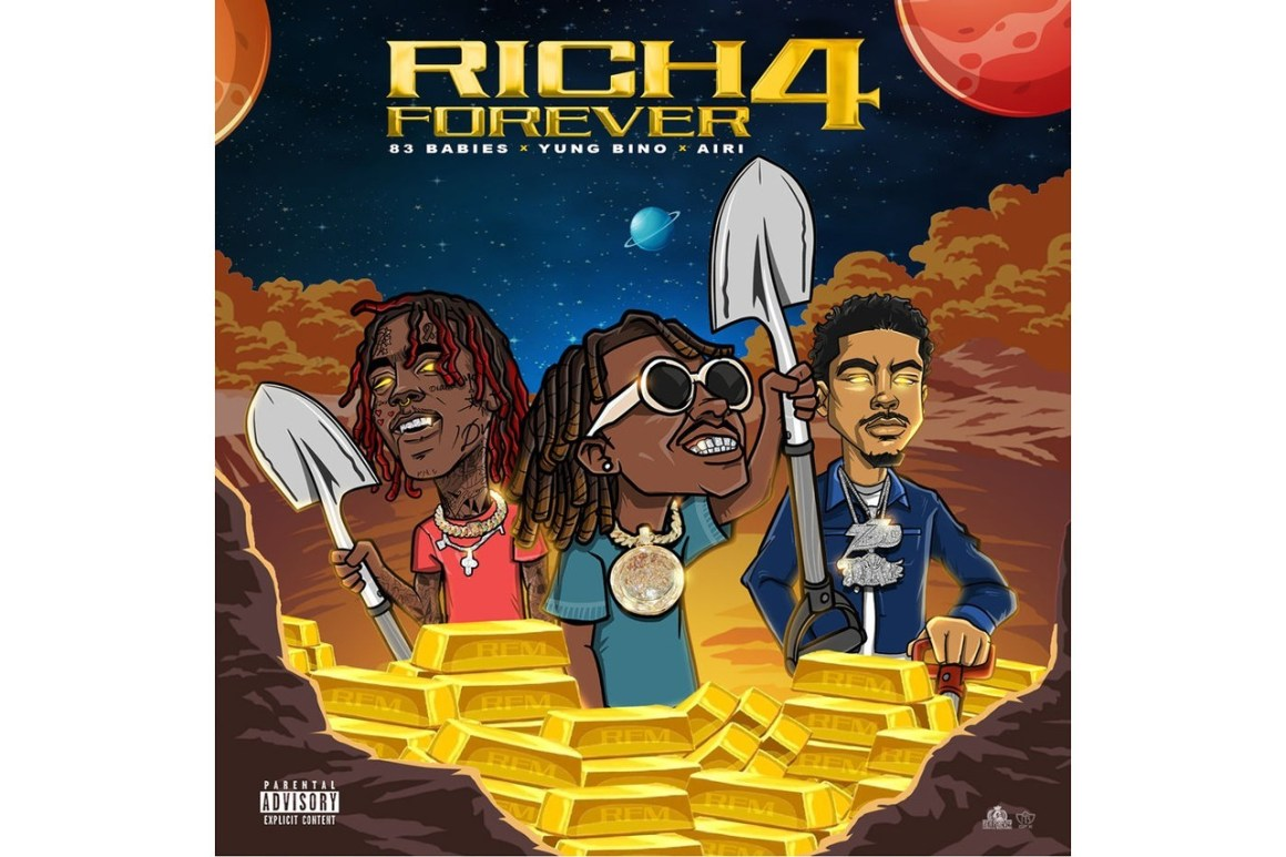 """Stream Rich The Kid's New Album """"Rich Forever 4"""""""