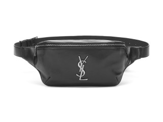 Add This Black Leather Saint Laurent Fanny Pack to Your Bag Rotation