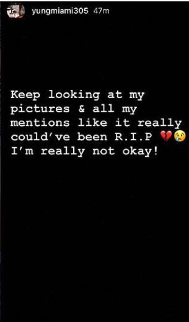 "Yung Miami Admits She's ""Really Not Okay"" Following Shooting"